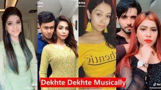 Dekhte Dekhte Musically   Atif Aslam   Awez darbar, Nagma Mirajkar, Hassnain Khan