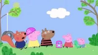 Peppa pig listens to russian hard bass