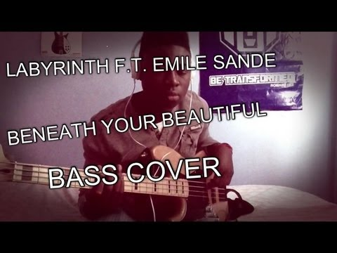 beneath-your-beautiful-labyrinth-ft-emeli-sande-bass-cover-hd-josh-sanya