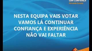 """HINO PSD ÍLHAVO - Autárquicas 2013 - Candidatura """"CONTINUAR COM CONFIANÇA"""""""