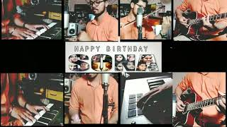 Happy Birthday sona | instrumental cover | special wish for deepti bahuguna