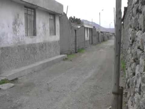 Viaje por Sudamerica di Giacomo Sanesi. Chivay (PER). 01698 – luogo importante
