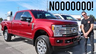 WHY I SOLD MY 2017 F250... width=