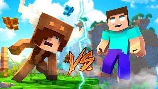Minecraft Daycare - HEROBRINE VS GIRL FRIEND! w/ MooseCraft (Minecraft Kids Roleplay)
