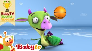 Play Basketball with Draco | BabyTV Sports Special