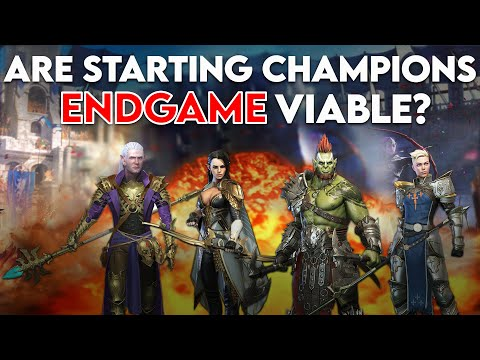 Starting Champion Viability in the End Game I Raid Shadow Legends