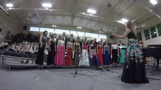 """On My Way"" by Phil Collins GHS Choir 2017 Senior Song"