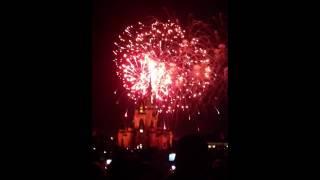 Disney fogos de artificio