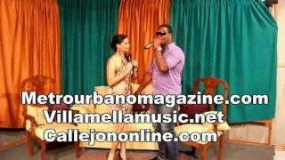 La berunta Presentacion en programa Luz y Moya canal 10 de bani