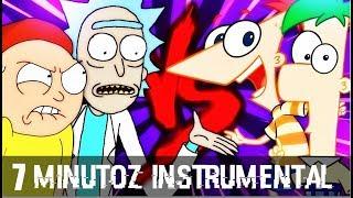 Instrumental - Rick e Morty VS. Phineas e Ferb   Duelo de Titãs (7 Minutoz)