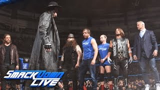 The Undertaker returns with a haunting Survivor Series warning: SmackDown LIVE, Nov. 15, 2016 width=