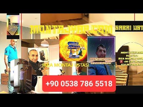 KUYUBAŞI İKEA MOBİLYA KURULUM 0538 786 5518 IKEA PAX MODEL CAMLI AYNALI RAYLI DOLAP MONTAJI