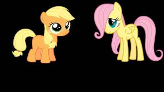 My Little pony Vampire bats song Filly version 2