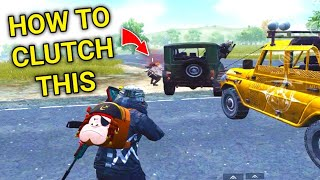 How To Clutch In Car Fights In PUBG Mobile