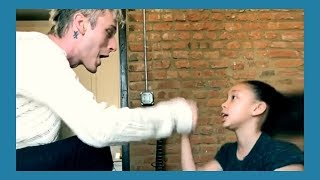 Machine Gun Kelly Raps With His Daughter
