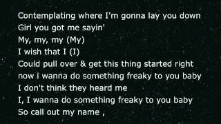 Nice&Slow - Usher [ Lyrics On Screen )