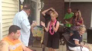 Diane Levin dances