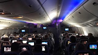 Inflight Cabin Tour: American Airlines Boeing 777-200 Main Cabin Tour