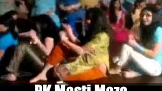 Pakistani Wedding Mehndi Night Beautiful Girls Dance