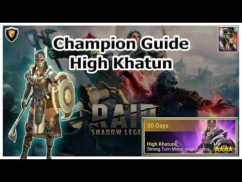 RAID Shadow Legends | Champion Guide | High Khatun