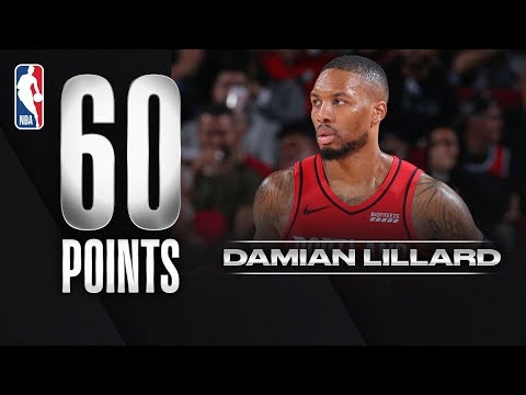 Download Video Damian Lillard ERUPTS For 60 PTS!