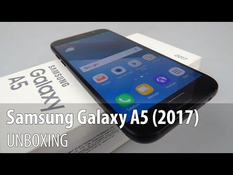 Samsung Galaxy A5 (2017) Unboxing în Limba Română