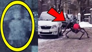 10 CREEPY & TERRIFYING Things Caught On Camera!