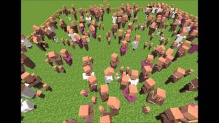 Smiley feat. Pavel Bartos - Cu fuioru' ( Minecraft Parody)