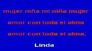 KARAOKE MI NIÑA MUJER - LOS ÁNGELES AZULES original