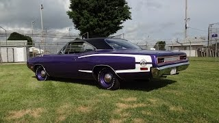 1970 Dodge Super Bee 440 Six Pack 4 Speed in Purple & Engine Start - My Car Story with Lou Costabile