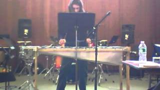 Mixed up Toccata on Glass Marimba