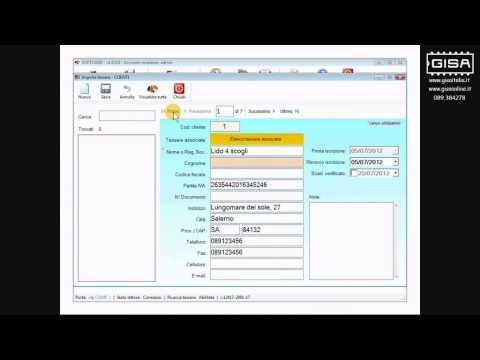 SOFTCARD - Importare una tessera ovale dall'archivio