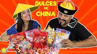 Dulces de China Probamos chuches orientales chinas