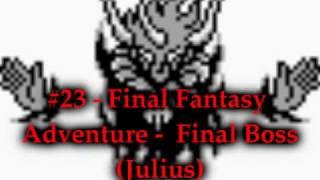 Best SMW Music 23 - Final Fantasy Adventure - Final Boss (Julius)