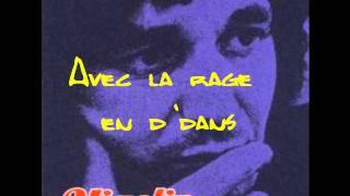 Jacques Higelin - Avec la rage en d'dans