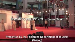 ROMANTIC PHILIPPINES by Renee Salud (Beijing, CHINA) IKAW Performed by Jonathan Badon