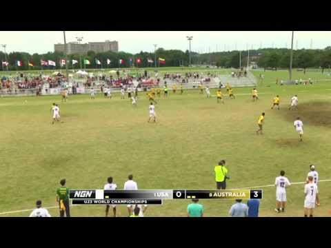 Video Thumbnail: 2013 WFDF World U-23 Championships, Men's Semifinal: USA vs. Australia