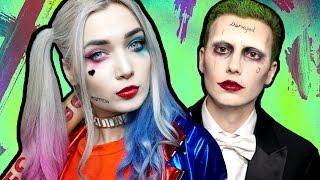 Harley Quinn SUICIDE SQUAD Makeup Tutorial ft. The Joker