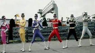 Denji Sentai Megaranger -Henshin Theme- [Kyuurioku!! Henshin]