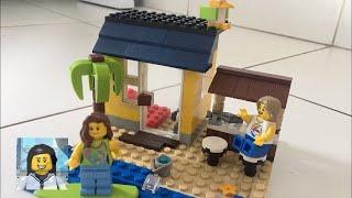 Lego My City - Como Montar um Ambiente de Praia de Lego