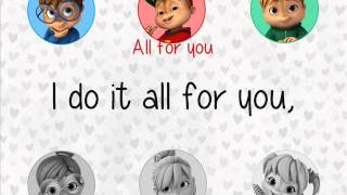 "The Chipmunks and Chipettes - ""All For You""   (with lyrics)"