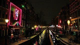 360 VR Tour | Amsterdam | Red-light district | De Wallen | Evening | VR Walk | No comments tour