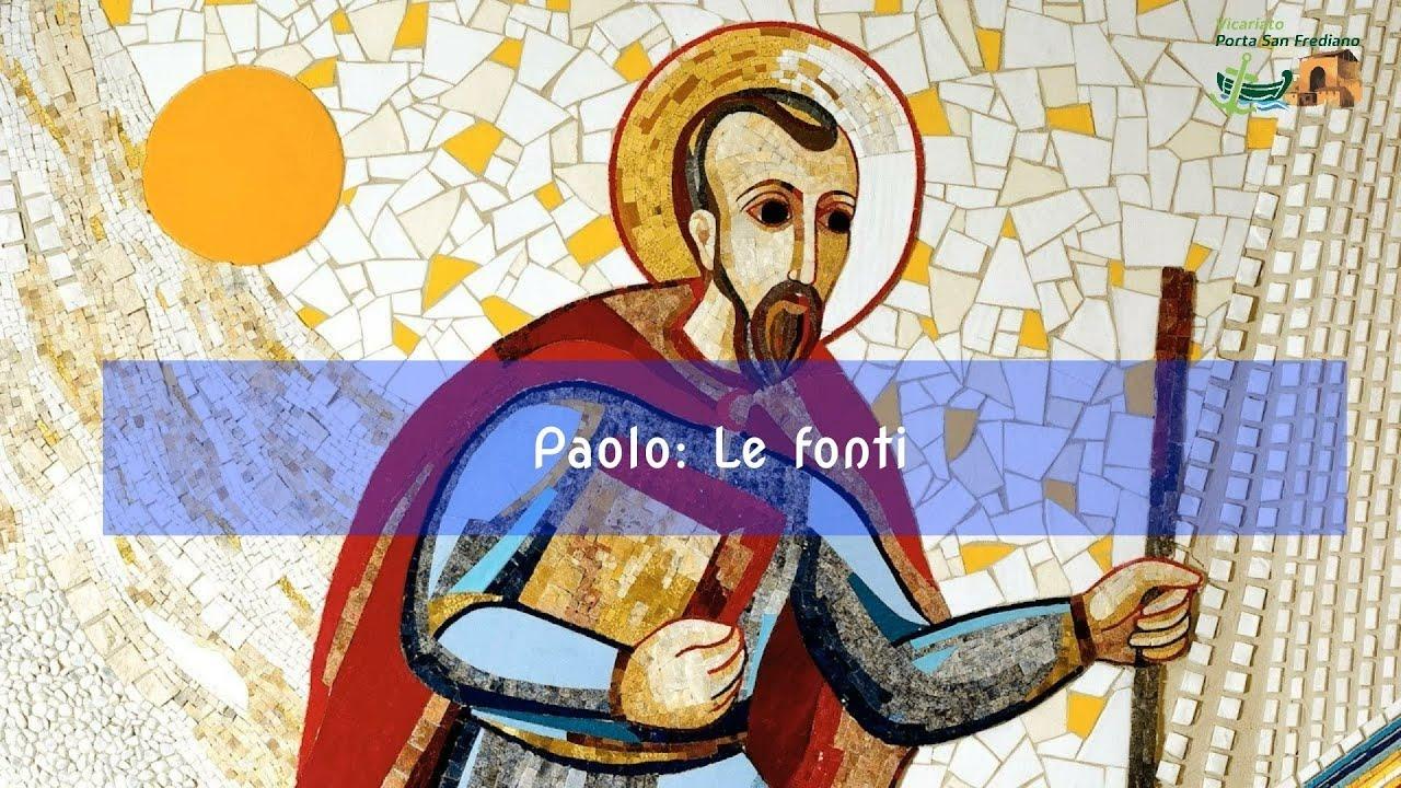 San Paolo – Le fonti (prima parte – l'epistolario) – Emanuela Buccioni – 003