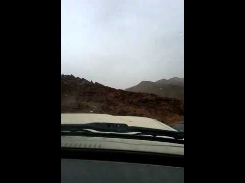Stunning mountain road Morocco 20120323