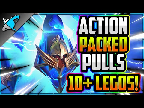 ACTION PACKED PULLS... 10+ LEGOS !! | 2X Ancients Highlights | RAID: Shadow Legends