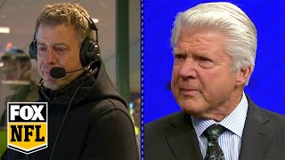 Jimmy Johnson, Troy Aikman moved to tears at surprise HOF announcement   FOX NFL