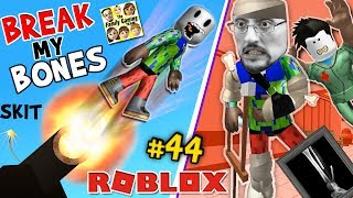 ROBLOX BREAK MY BONES PLEASE!! FGTEEV Duddy Surgery GAMEPLAY ROLEPLAY SKIT