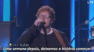 Ed Sheeran - Shape of You Legendado ( TheEllenShow ) |HD|
