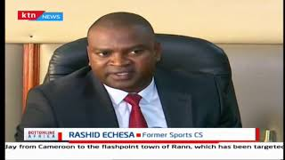 Echesa red-carded: Fired Sports CS's performance