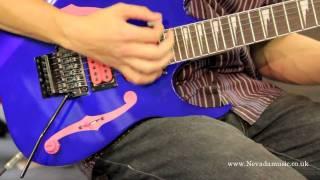 Paul Gilbert Ibanez PGM100RE Guitar Demo - Sam Bell width=